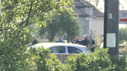 A man has been arrested for public order offences after two pre-planned raids in Blofield. Picture: