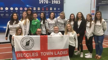 By sponsoring the women's team we had a chance that women would come into the pub more often. Pictur