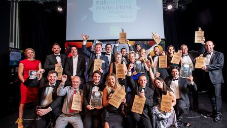 Eat Norfolk Food and Drink Awards 2018. Photo credit ©Simon Finlay Photography