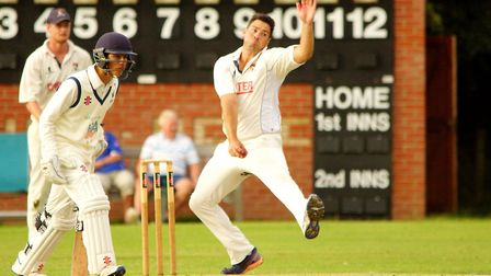 Ben France will be playing his club cricket in the third tier of the Norfolk Alliance this season. P