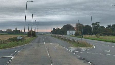 Four vehicles have been involved in a crash on the A47 in Norfolk. Picture: Google Earth