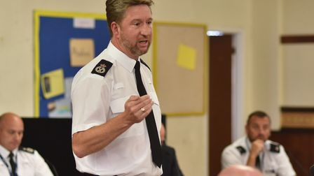 """Chief Constable Simon Bailey said it is """"a challenge"""" getting victims of knife crime to engage. Pict"""