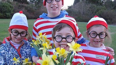 Where's Wally event at Stody Lodge Gardens