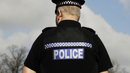 A man who attempted to hide a grinder down his trousers in front of officers was found to have canna