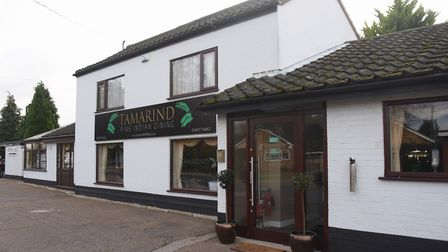 Enforcement officers visited Tamarind Fine Indian Dining on Woodbastwick Road on Wednesday evening (