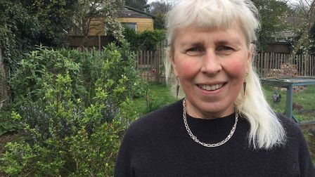 Bev Broadhead, Labour candidate for Suffield Park at the North Norfolk District Council election in