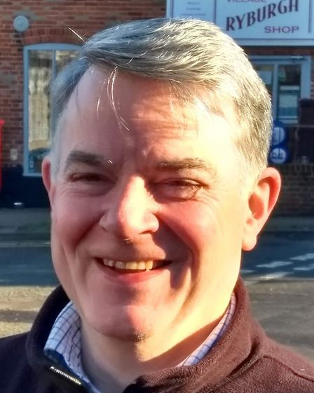 Vincent FitzPatrick, Conservative candidate for Stibbard in the 2019 North Norfolk District Council