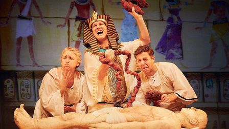 Awful Egyptians by Birmingham Stage Company Credit: Mark Douet