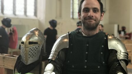 Lee Warden, Captain of Knights Tower. Picture: Archant