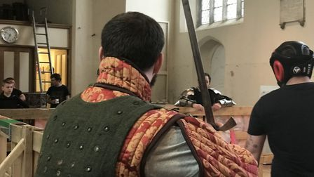 Knights Tower in Norwich is the only Full Contact Medieval Combat in the East of England. Picture: