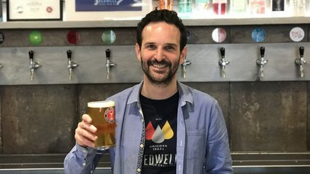 Managing Director of Redwell brewery in Trowse, Ben Hopkins. Picture: Ella Wilkinson, Archant.