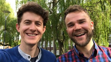 John Ellison and Ollie Krol who have set up The Good Host aimed at helping landlords make more money