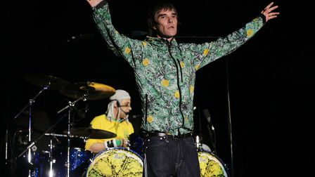 Ian Brown, of The Stone Roses, at the 2012 V Festival in Hylands Park, Chelmsford Picture: Yui Mok/