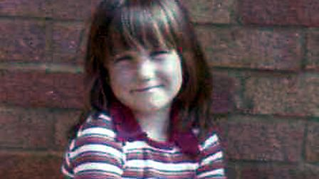 Blast from the past. Hayley Long when she was a girl Picture: HAYLEY LONG