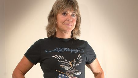Suzi Quatro. 'Suzi wore a leather catsuit and played an electric guitar. I thought she was the coole