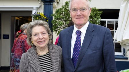 Husband and wife, Peter and Felicity Pugh. Picture: ARCHANT