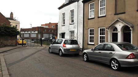 All Saints Street, in King's Lynn, which was the scene of a major police operation Picture: Chris B