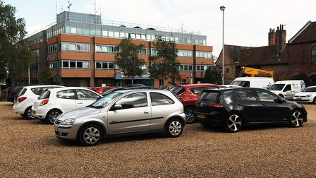 New homes could be built on the Chapel Street car park in King's Lynn Picture: Chris Bishop