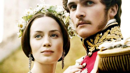 Emily Blunt and Rupert Friend as Victoria and Albert in The Young Victoria. Photo: Momentum Pictures