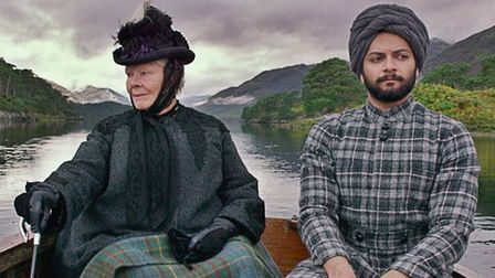 Judi Dench and Ali Fazal in Victroia and Abdul. Queen Victoria is the nation's most popular historic