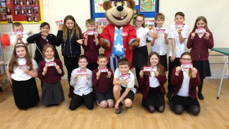 Swan Class at Gillingham St Michael's Primary Academy won a regional reading competition organised b