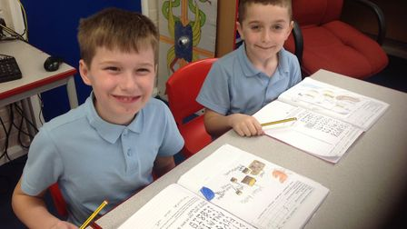 Toftwood Infant and Junior School Federation's Year 4 enjoyed an Anglo Saxon day which included pott