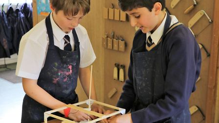The Town Close School Year 7 children have been challenged to design, build and program their own op