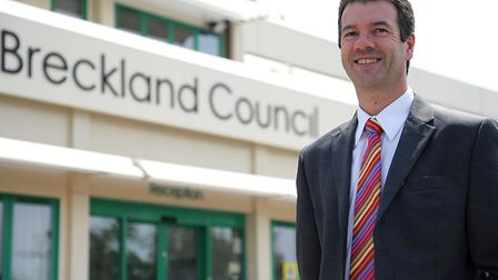 Former leader of Breckland Council William Nunn who has stood down as leader of the ruling Conservat