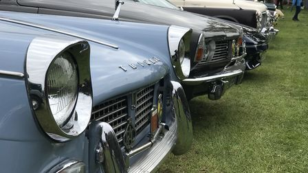 Guests enjoyed a wide variety of vintage cars. Picture: Victoria Pertusa