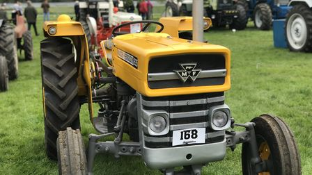 People enjoyed a wide variety of vintage cars and tractors. Victoria Pertusa