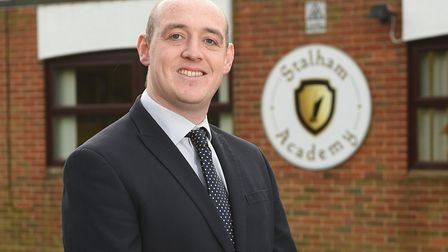 Stalham Academy executive headteacher Glenn Russell. The academy is one of two Norfolk schools to ha