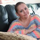 Contaminated blood victim, Michelle Tolley of Sparham, who is playing a large part in the public inq