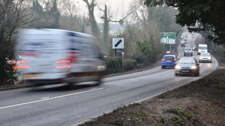 The 30mph speed limit for work on a new roundabout will include a stretch of the A140 at Tasburgh th