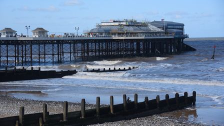 Campaigners are expected to line the seafront at Cromer pier to raise awareness about mental health