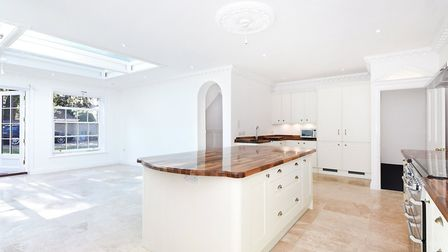 This house on Trory Street is for sale in the Golden Triangle. Pic: Strutt and Parker.