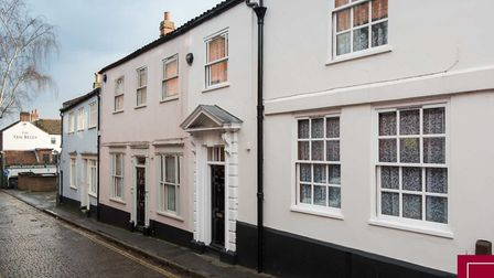 A period townhouse on Ten Bell Lane. Pic: Pymm & Co.