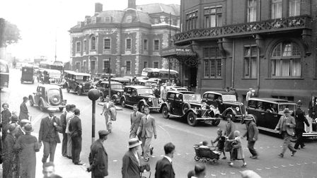 Norwich Agriculture Hall Plain Royal HotelNo date Photo: Archant Library