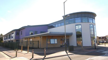 The new Lakenham Primary School building on City Road, Norwich, pictured before its opening in 2007.