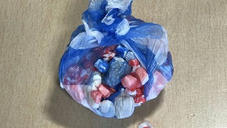 the drugs were dropped in the Webdell Court area of Norwich. Photo: Norwich police