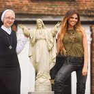 Channel 5 show Bad Habits was filmed at the Sacred Heart Convent in Swaffham. Pictured are sister Mi