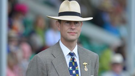 Prince Edward, Earl of Wessex, pictured at the Royal Norfolk Show, is to visit Banham Zoo. Picture: