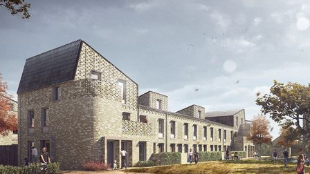 The Goldsmith Street development in Norwich. Pic: Mikhail Riches