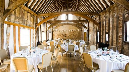 Dragon Hall has re-opened for weddings. Pic: Lee Allen.