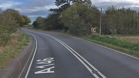 Emergency services were called out following a multi-vehicle crash on the A146 at the Barnby Bends.