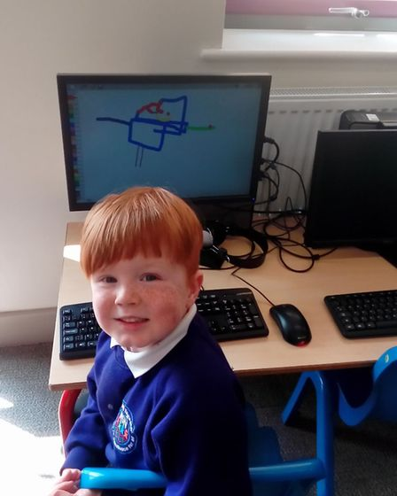 Northfield St Nicholas Primary Academy's Reception children have started the book Bedtime for Monste