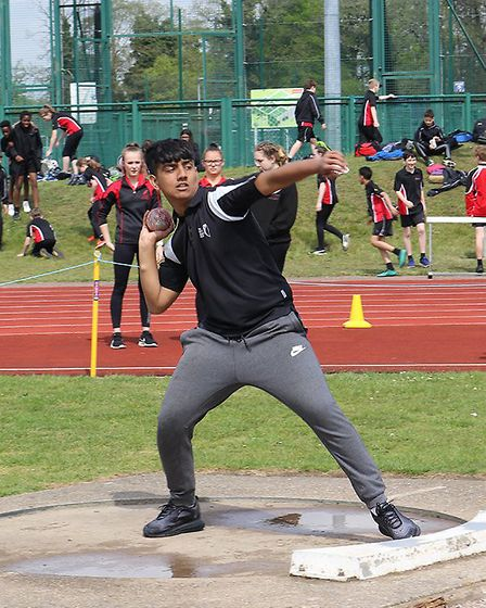 Students Hewett Academy compete at the annual Inspiration Trust Champions Day at the UEA Sportspark.