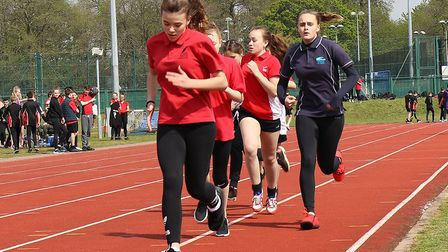 Students from Jane Austen College compete at the annual Inspiration Trust Champions Day at the UEA S