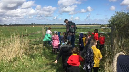 Valley Primary Academy's Year 1 children visited Hall Farm. They enjoyed the fresh air, seeing the c