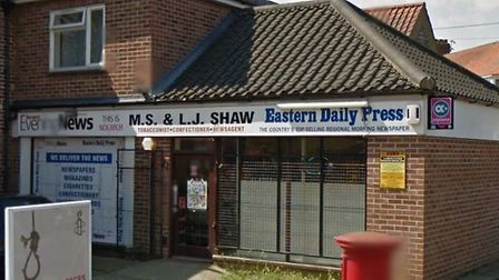 The former newsagents in Aylsham Road is set to be turned into a cafe. Pic: Google Maps.