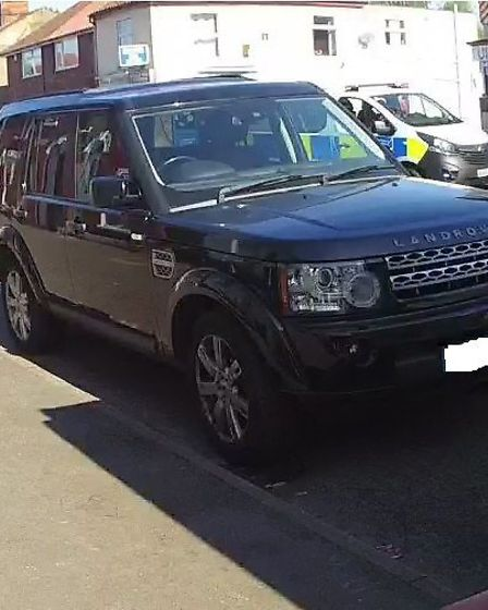 A Landrover, motorcycle and motorhome were seized during a raid at an address on Heigham Street. Pic